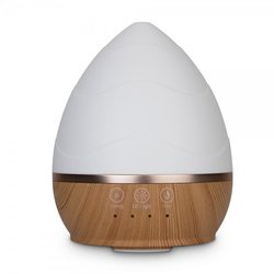 Aroma Diffuser Bamboo Shoot - Wood Look Bottom-White Top